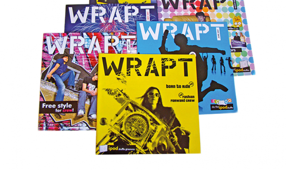 McDonald's Wrapt Magazine